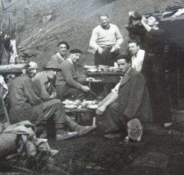 petite halte sur le chemin de la liberté dans la montagne couseranaise
